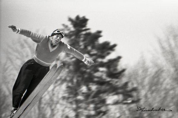 Skiflugtechnik
