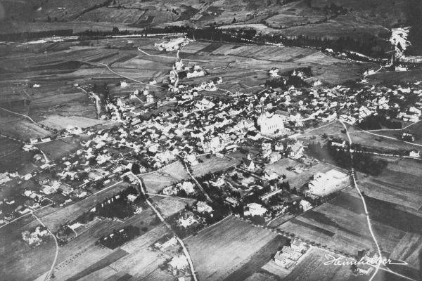 Oberstdorf Luftaufnahme
