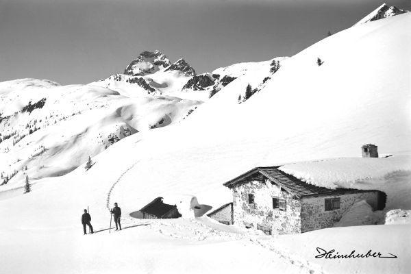 An der Lechleitner Alpe 1920