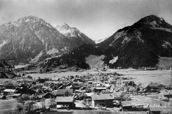 Bad Oberdorf bei Hindelang, um 1920
