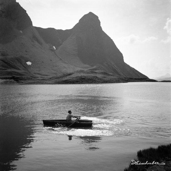 Ruderboot auf dem Rappensee