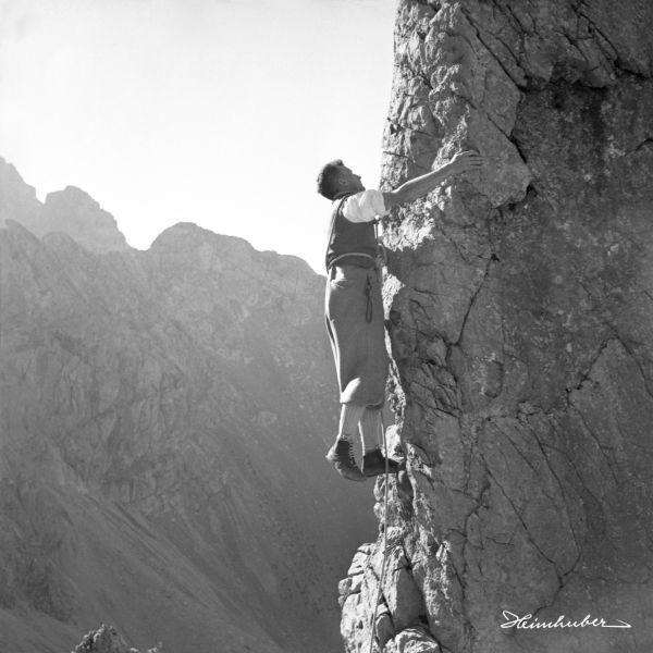 Klettern an der Fuchskar