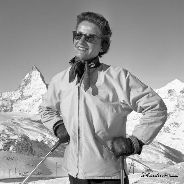 Posing vor dem Matterhorn