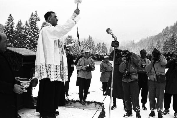 Taufe der Skiflugschanze