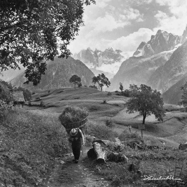Bergbauer von Soglio