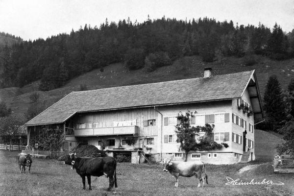 Bauernhaus in Gunzesried