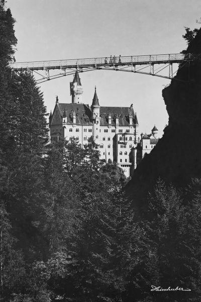 Schloss Neuschwanstein mit Marienbücke