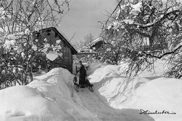 Ein Wintertag 1924