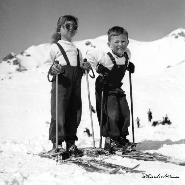 Wonneproppen auf Skiern