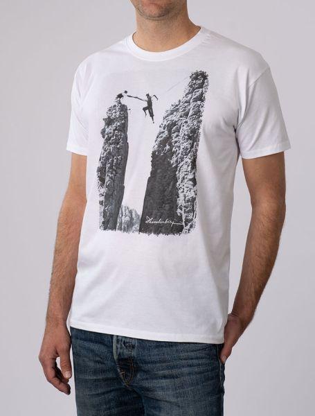 Herren T-Shirt Seilquergang