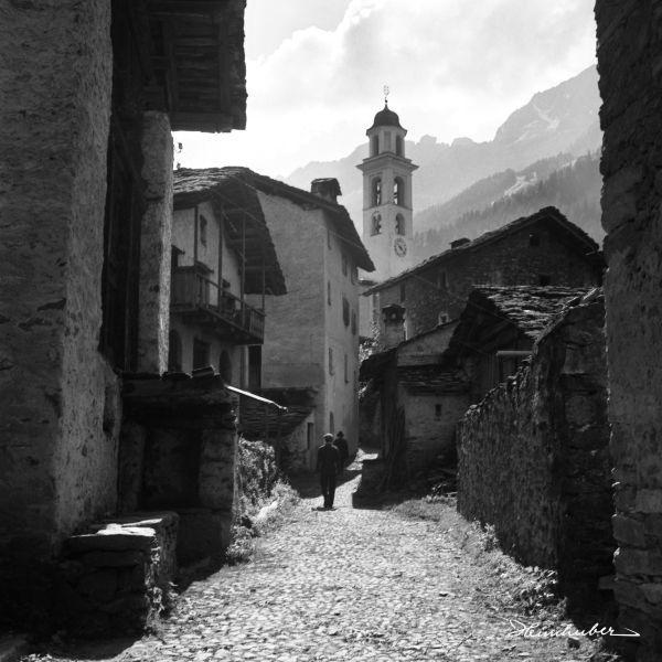 Dorfgasse von Castasegna