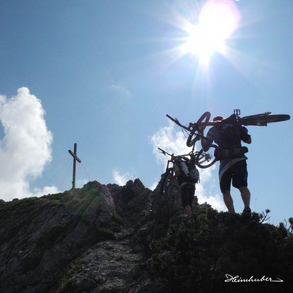 Bergbikesteigen