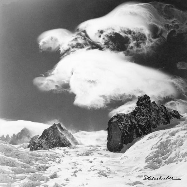 Wolkenspiel am Mont Blanc