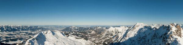 Panorama vom Nebelhorn
