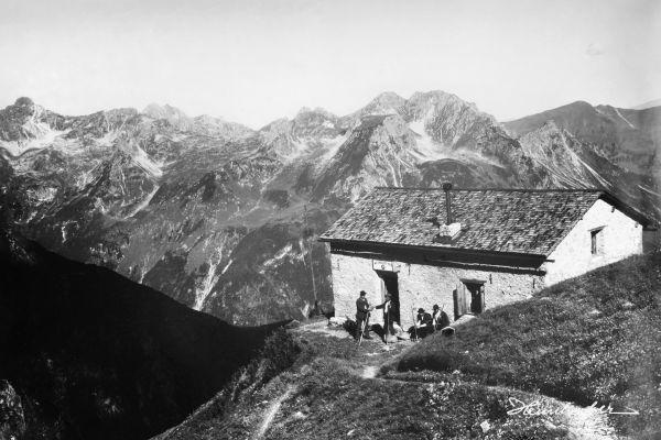 Waltenbergerhaus 1900