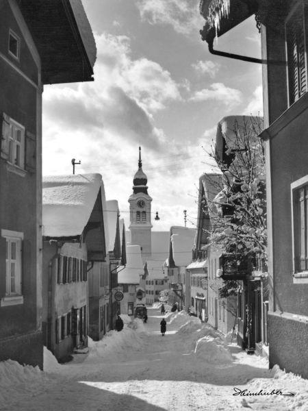 Marktstraße Sonthofen