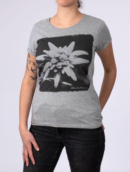 Damen T-Shirt Edelweiß