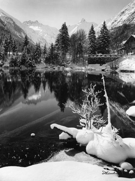 Christlessee im Winter