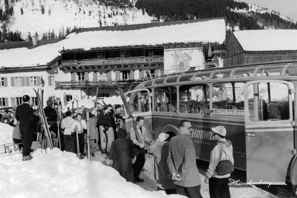Skiausflug in den 50ern