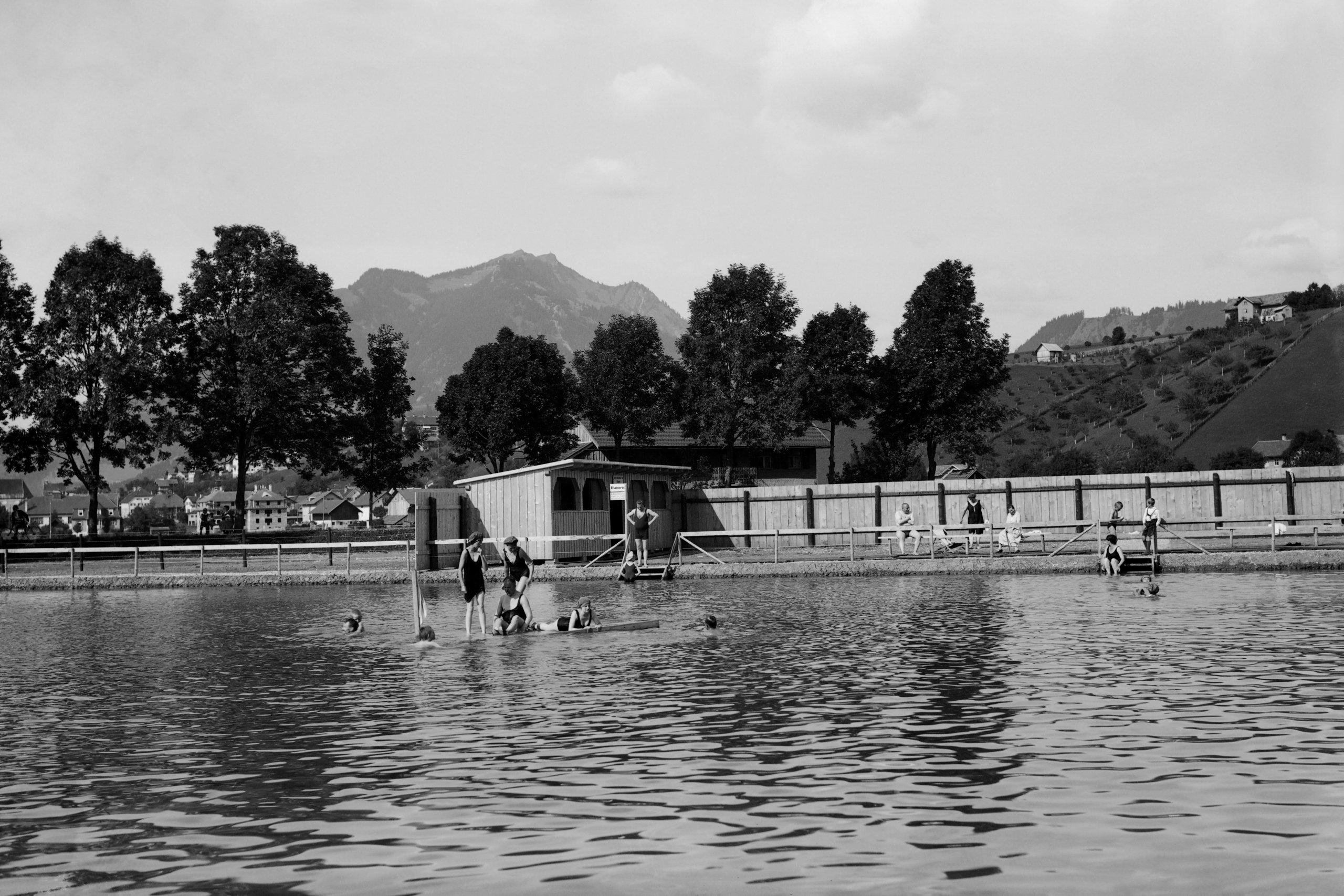 Alte fotos kaufen im online shop von foto heimhuber for Sonthofen schwimmbad