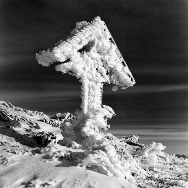 Gipfelkreuz am Großen Daumen