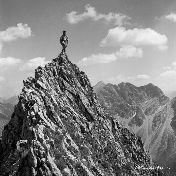 Auf dem Gipfel der Höfats