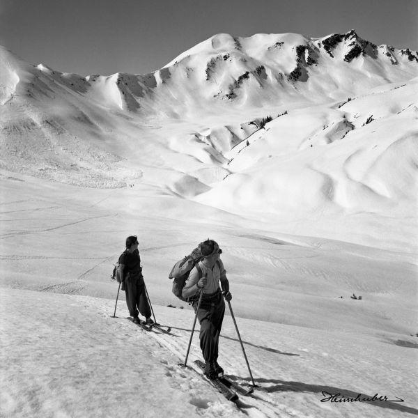 Skitour im Walsertal II