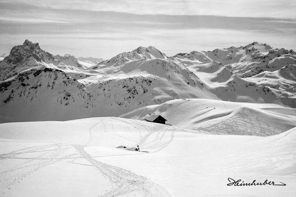 Skigebiet der Ulmer Hütte
