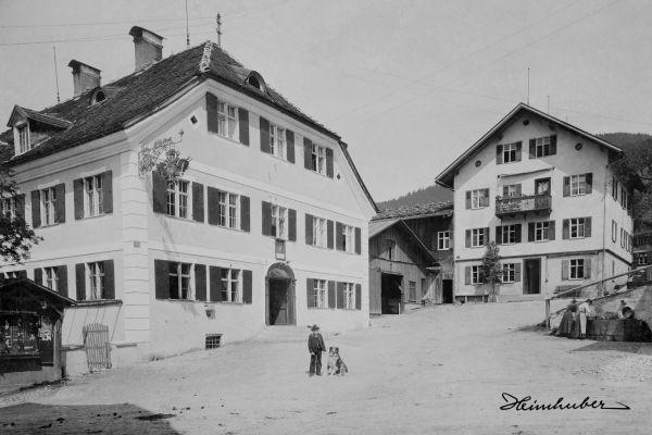 Gasthof zur Adler-Post, Bad Hindelang 1903