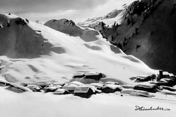 Stuben am Arlberg, um 1920