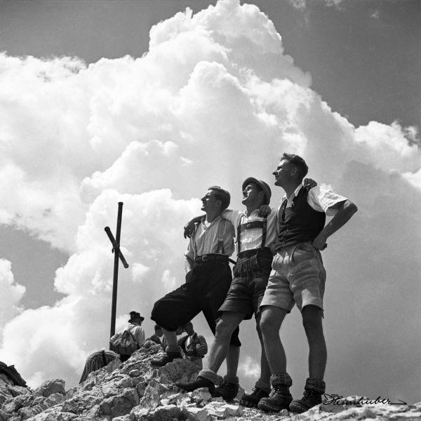 Am Gipfel des Widderstein