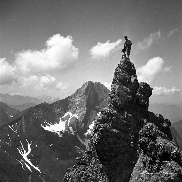 Auf der Felsnadel