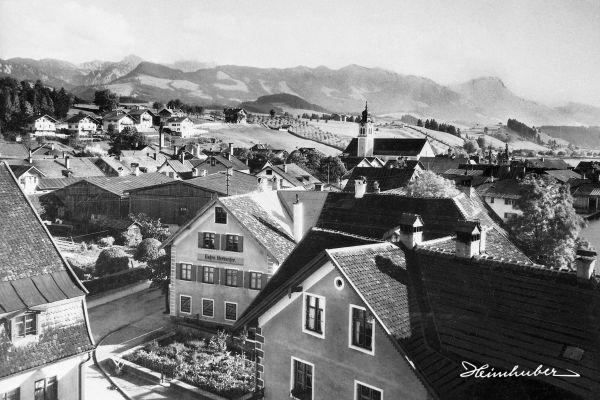 Sonthofen Richtung Kalvarienberg