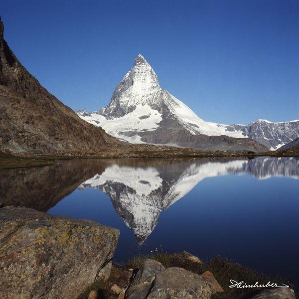 Matterhorn mit See