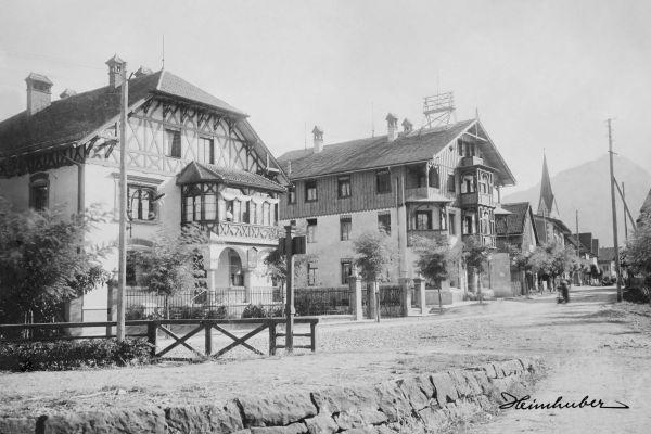 Bahnhofsplatz anno 1900