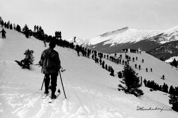 Skispringen Schrattenwang
