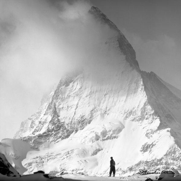 Matterhorn mit Wolkenfahne