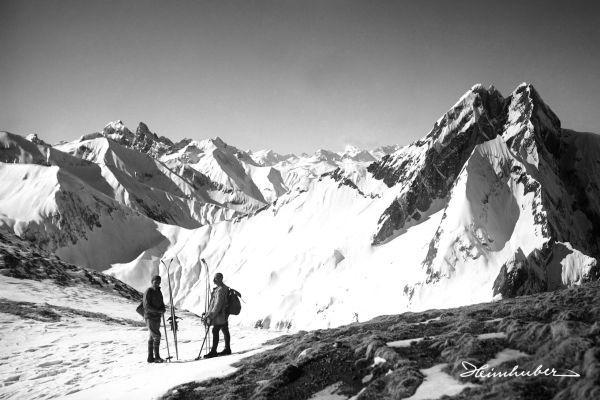 Skitour am Himmeleck mit Höfats