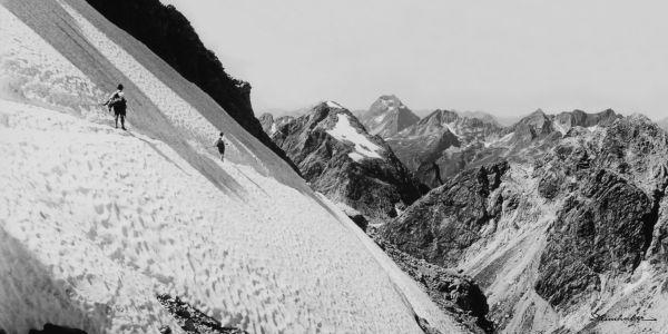 Schneefeld am Heilbronner Weg