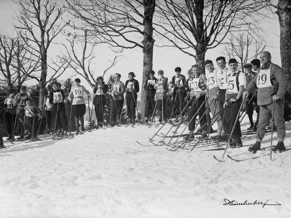 Ski Wettlauf 1928