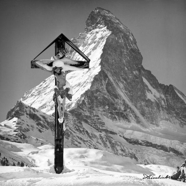 Marterl vor Matterhorn