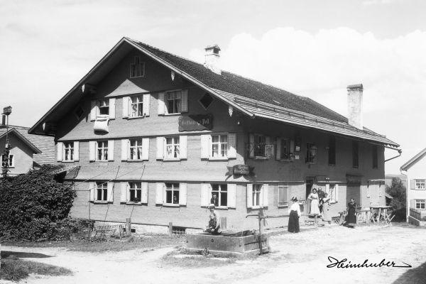 Gasthaus Post in Kranzegg 1905