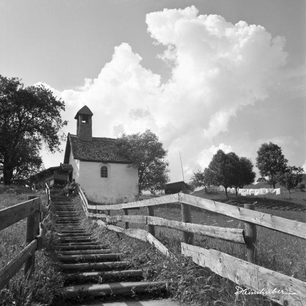 Treppe zur Jauchen Kapelle