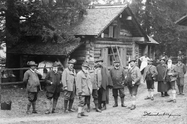 Hofjagd in Hinterstein 1906