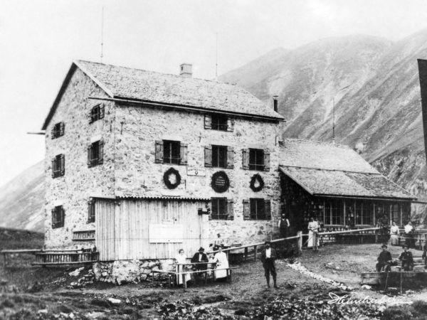 Kemptner Hütte 1915