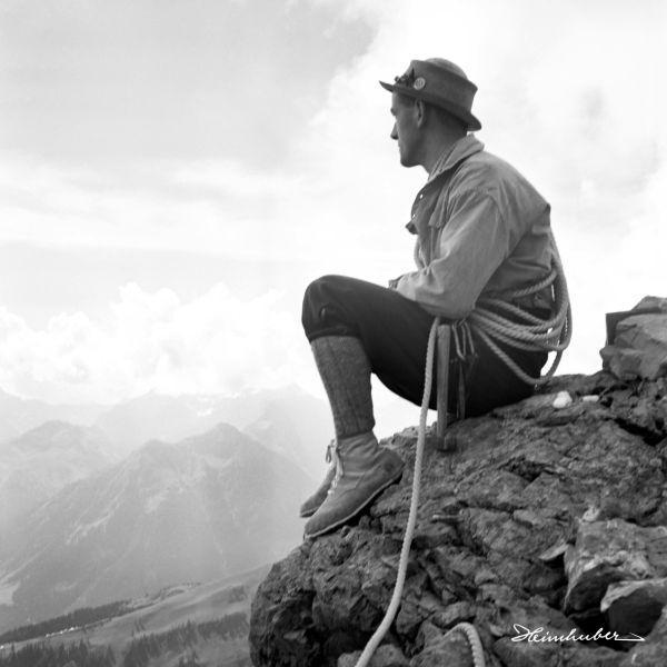 Kletterausrüstung 1937