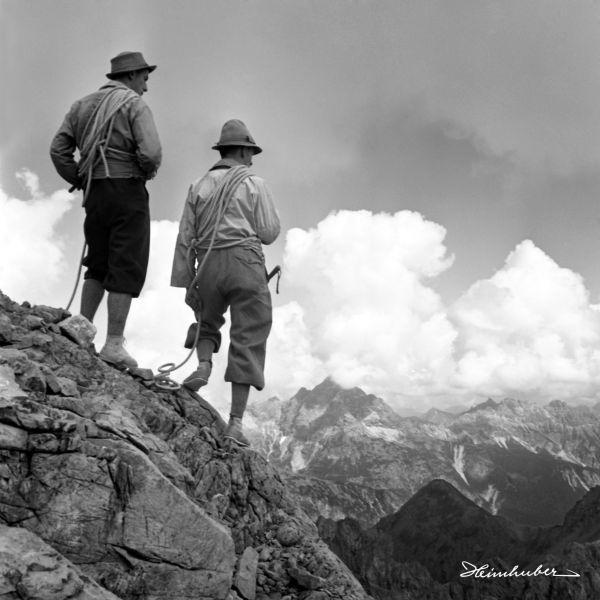 Klettertour am Wolfebner