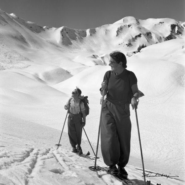 Skitour im Walsertal I.
