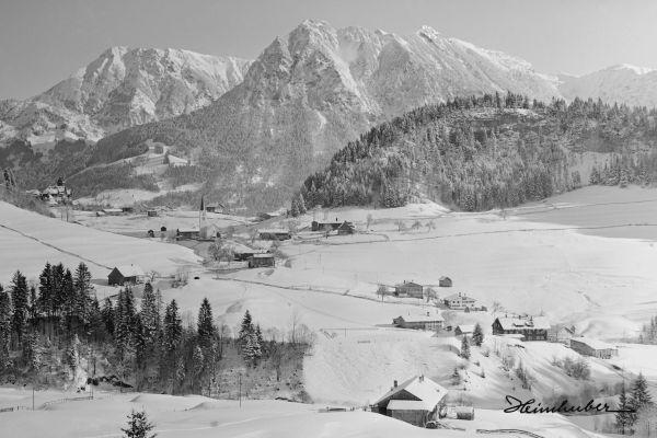 Obertiefenbach mit Rubihorn