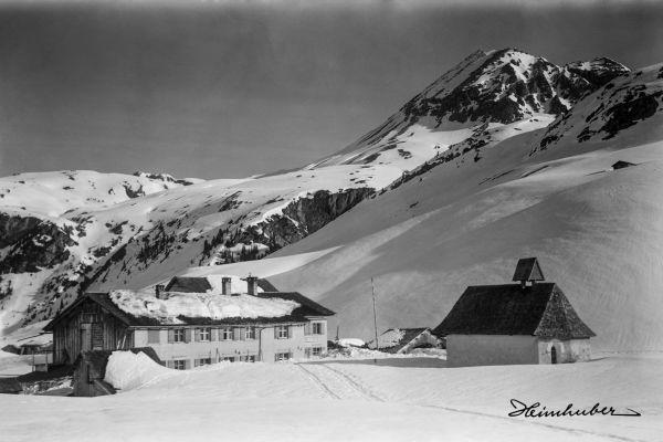 Gasthaus Edelweiss in Zürs
